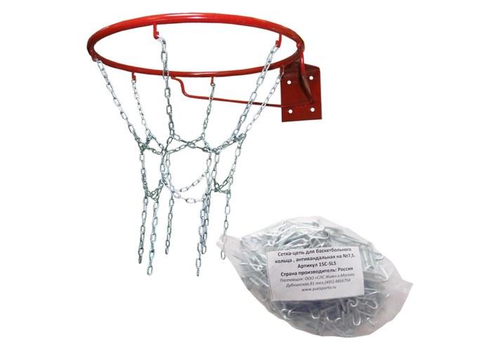 Сетка для кольца баскетбольного своими руками